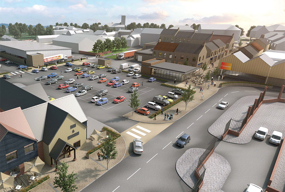 Development Plans for Bedlington Town Centre