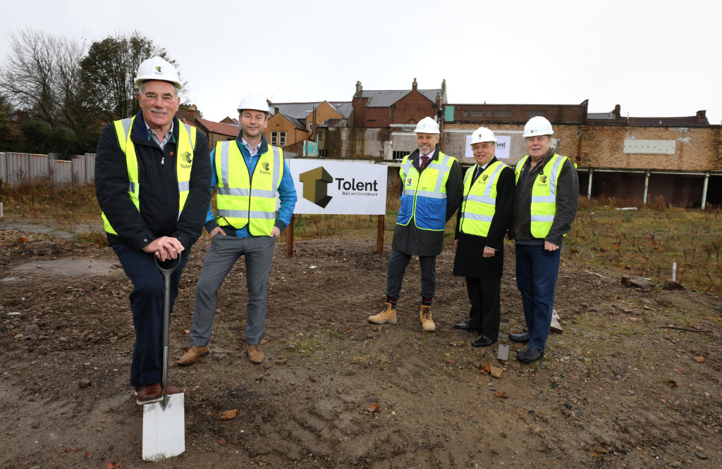 Advance Northumberland starts on site with Town Centre retail project